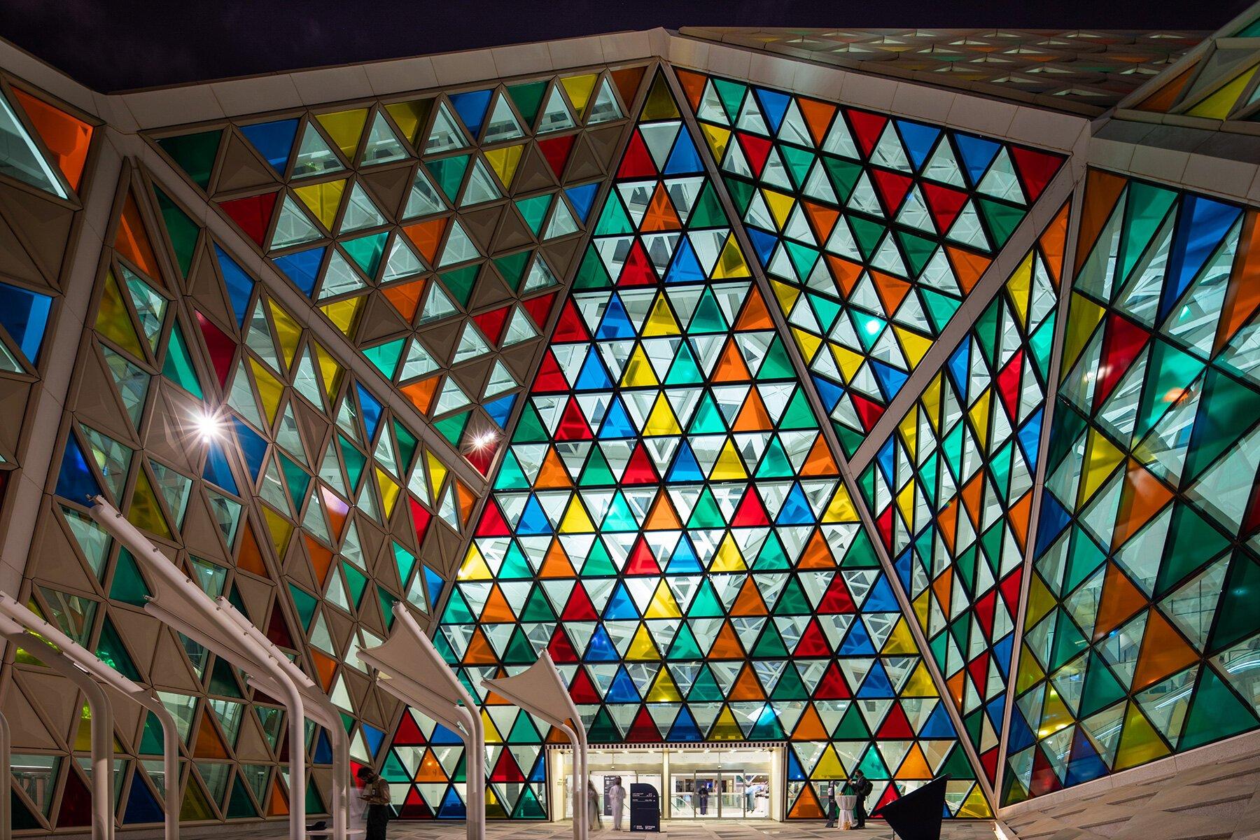 The Noor Riyadh light installation festival lights up the Saudi capital