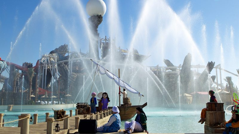 YAS Water World Opening: ABU DHABI, 2013 - Exhibits and Museum