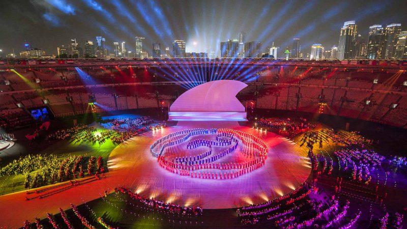 JAKARTA 2018 | 3rd Asian Para Games Opening Ceremony: JAKARTA, 2018 - Olympic Ceremonies