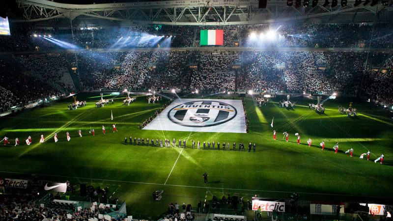 Juventus Stadium Opening Ceremony: TURIN, HISTORY - Opening Ceremonies
