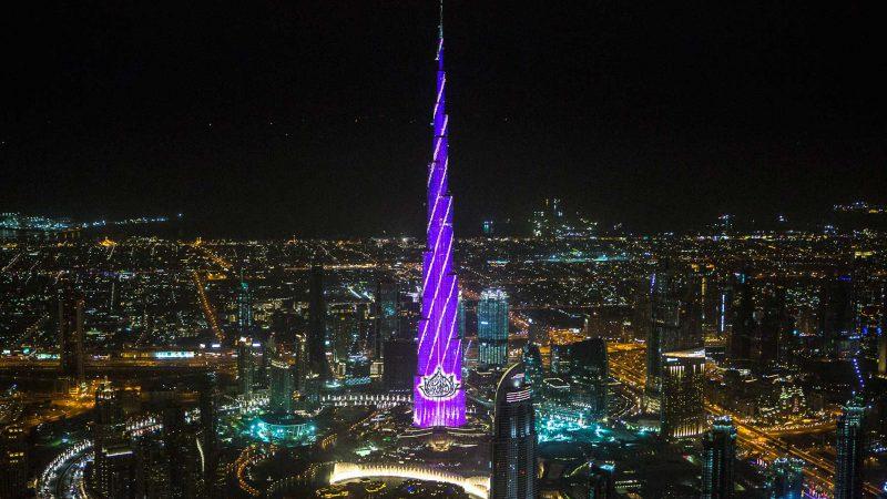 Burj Khalifa Show: DUBAI, 2016 - Icons