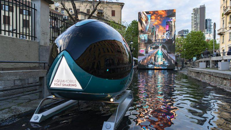 Aqua. Leonardo Da Vinci's Water Vision | Milan Design Week: MILAN, 2018 - Social Experience Destination