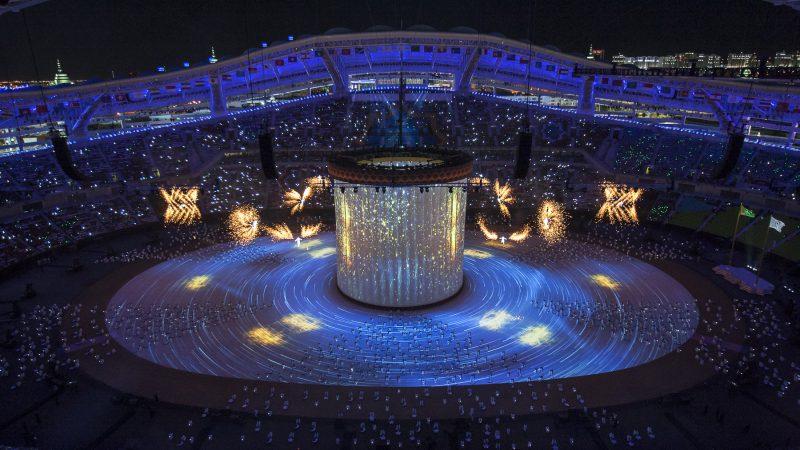 ASHGABAT 2017 | 5th AIMAG Opening Ceremony: ASHGABAT, 2017 - Olympic Ceremonies