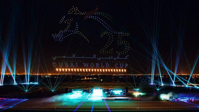Dubai World Cup Drone Show: DUBAI, 2021 - Opening Ceremonies