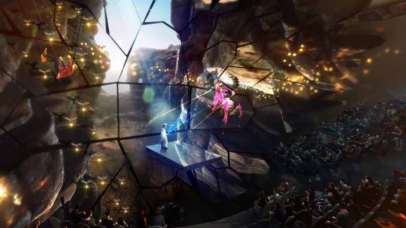 Dikra Superlive® Show on Suspended Stage: UAE, IN DEVELOPMENT - Immersive Experience