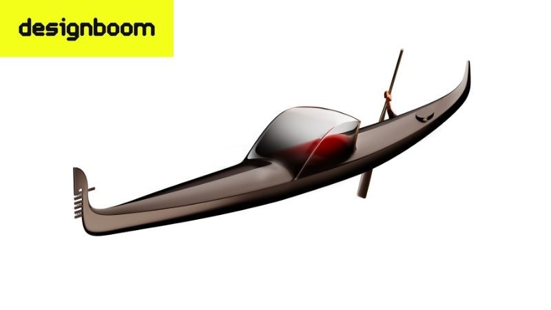 Winter Gondola design by Philippe Starck to serve as the new symbol for Venice