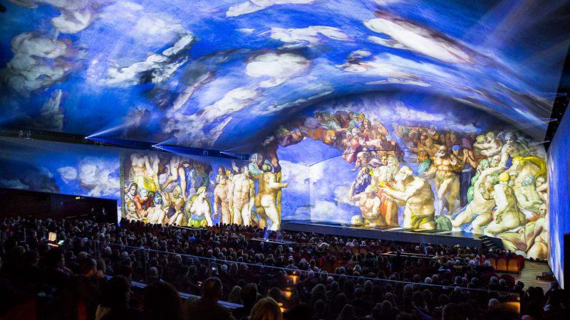 Giudizio Universale. The Sistine Chapel Immersive Show: ROME, 2018 - Immersive Experience
